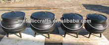 three legged south africa cast iron potjie pot