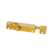 Solid Brass Barrel Bolt , Tower Bolt for securing doors, cabinets, drawers and windows