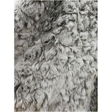 STABILE gel polish curly artificial racoon fur fabric