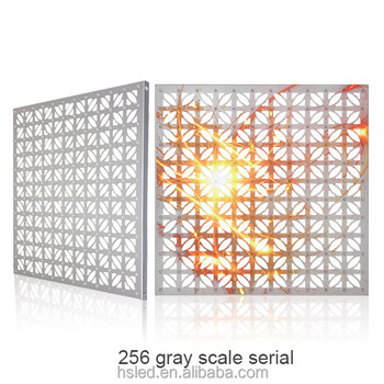 P40 Outdoor Decorative Aluminum Led Curtain Screen(256 gray scale serial)