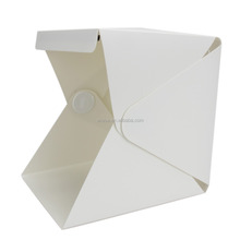 20CM Portable Lightbox Mini softbox LED Photo Studio Folding Light box Room Photography Backdrop Light Box Softbox Tent Kit