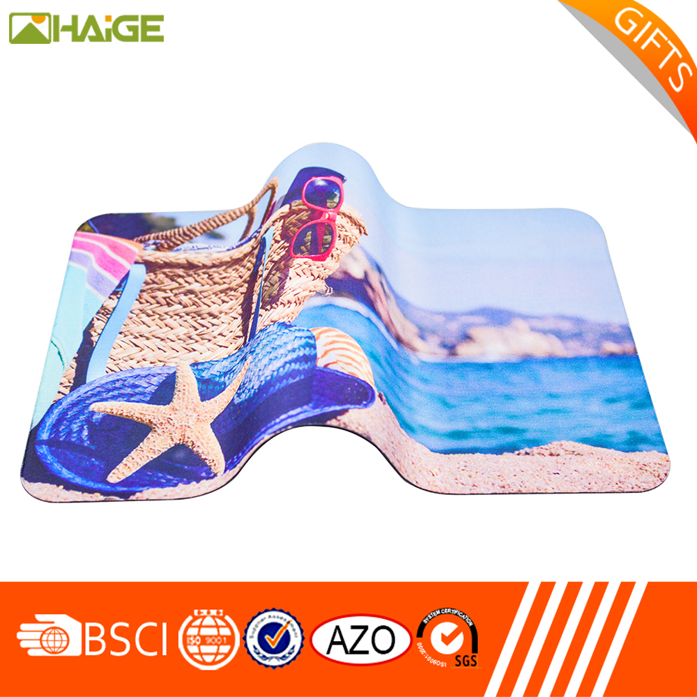 Factory price printed ultra thin mouse pad of China