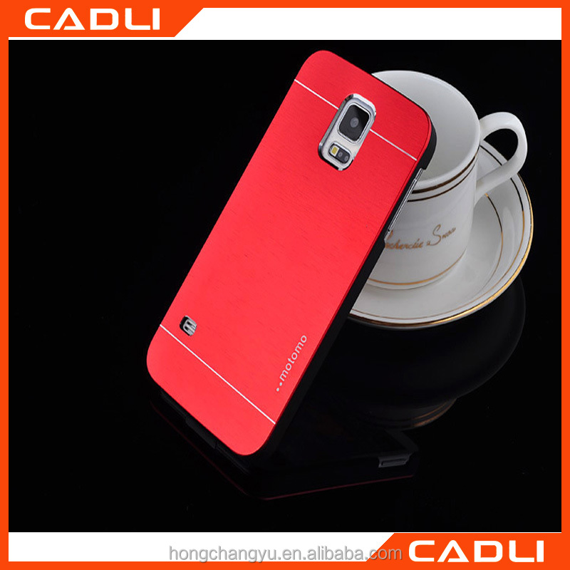 2016 Top- selling Aluminium Metal MOTOMO Case Cover for Samsung s4
