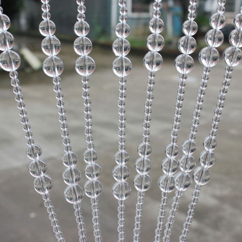 acrylic crystal beaded string window curtains/home decoration/building material