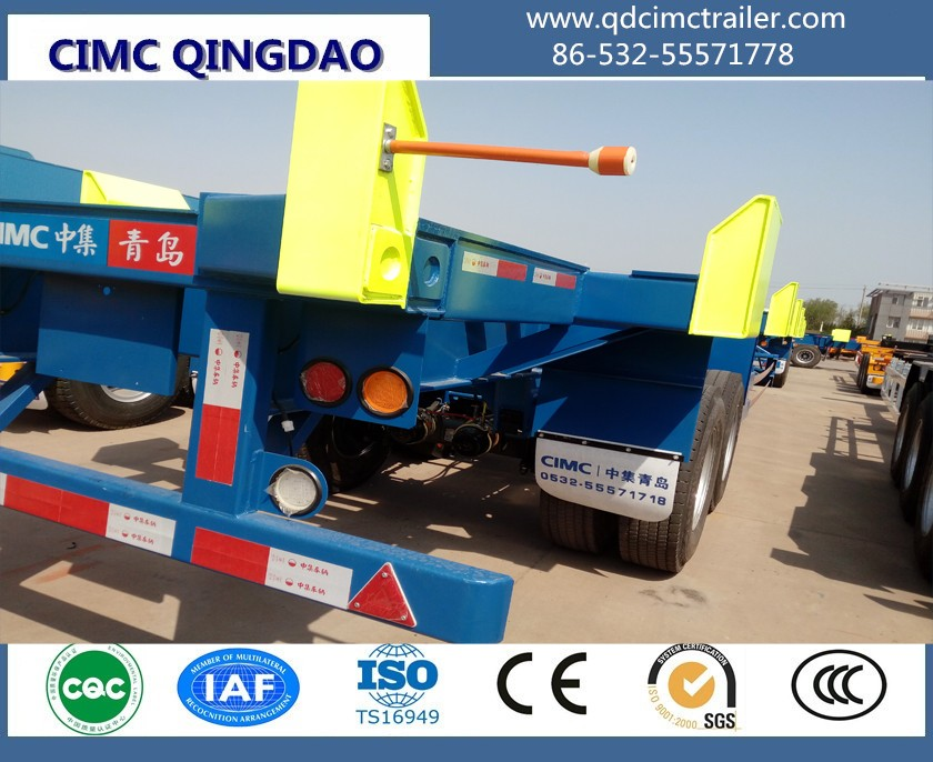CIMC 20ft port terminal trailer