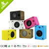 Factory cheap price hot item bluetooth mini wooden speaker built in battery