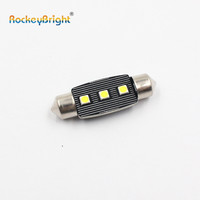 CANBUS 39MM 3SMD 3030 smd led lights led C5W Car Reading lamps interior lights White License Plate Festoon Light