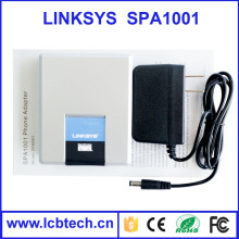 Unlocked linksys SPA1001 internet viop skype phone adapter with high quality