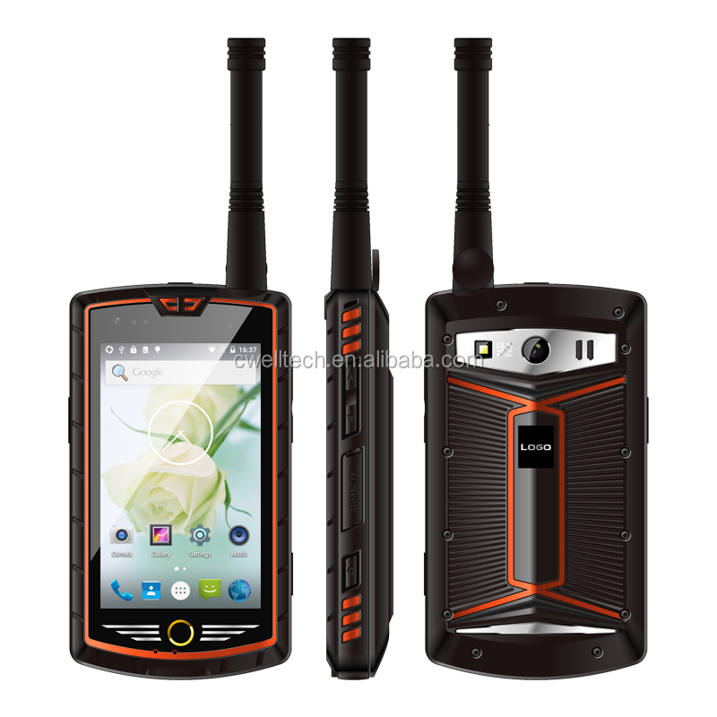 Alps W305 Analog/DMR Dual Mode Walkie Talkie Android Smartphone