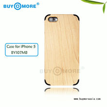New pattern real wood phone case for iphone 5