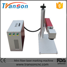 2017 New Design 10W 20W 30w Fiber Laser Marking Machine Price for bar code/logo/symbols/graphics