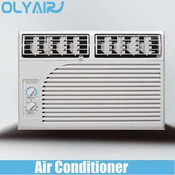 Manual control top air outlet window air conditioner 7000btu