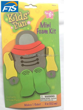 Kids' Fun Mini Robot Foam kit Craft kit and DIY EVA CRAFT KIT