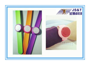 2016 Jinou Wrist Band Beacon compatible with iBeacon BLE