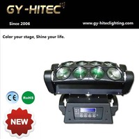 Cheap Stage lighting led spider beam moving head disco light in China