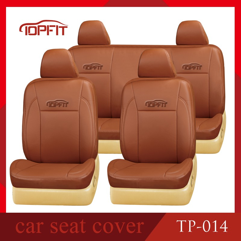 2016 latest design high quality PVC car seat cover fit for universal 5 seat car models (TP-014)