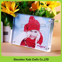 magnetic photo frame small clear acrylic frame for pictures