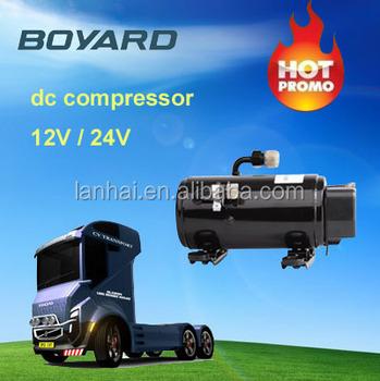 Portable car air conditioner kits r134a 12v 24v 72v dc - Compresseur 12 volts ...