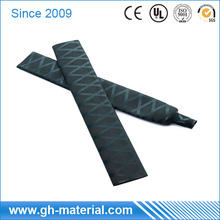 Insulation Polyolefin 40mm Black Heat Shrink Sleeve For Fishing Rod