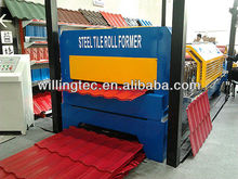 aluminium or glazed tile forming machine