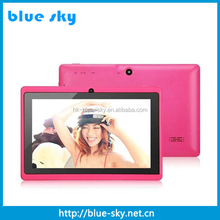 High quality hot selling 7inch ALLWINNER A33 android 4.4 tablet pc with keyboard case