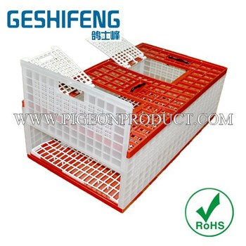 2015 Foldable Poultry & bird Transport Cages,pigeon cage