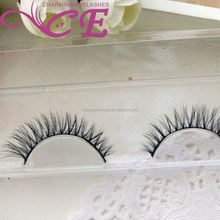 China strip silk eyelash horse hair custom eyelash packaging