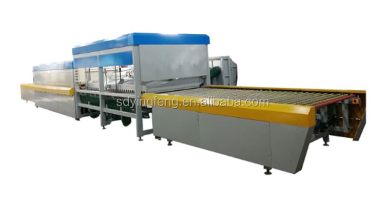 JFG 1325 Hot Sale flat glass toughed tempering machine with CE
