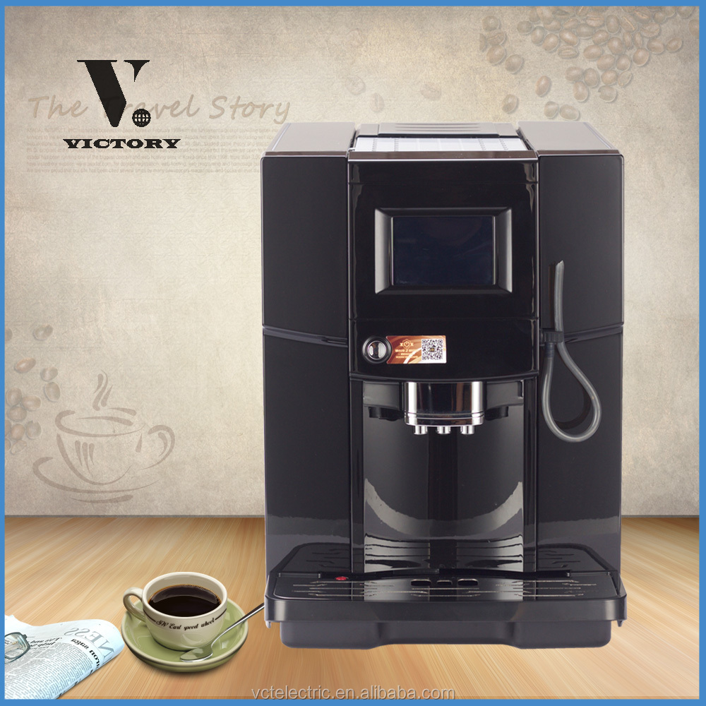 Espresso Coffee Maker Type and ABS plastic Housing Material professional coffee making machine for cafe