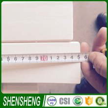 wood plastic production line raw materials for furniture Poplar Curved Bed Slats for home bed furniture