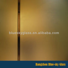 china supplier 3mm-12mm cut to size toughened sandblasting glass sheet for sale