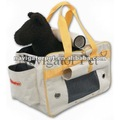 Portable Soft-Sided cat carrier with removable bottom pad