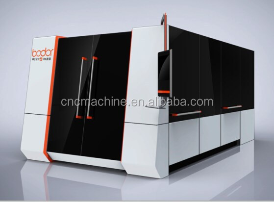 High quality 1530 fiber metal cutting laser with outer cover 2 years warranty ISO, FDA, CE ,BV china competitive price