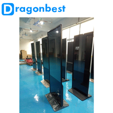 New design 43 inch indoor android ultrathin floor standing kiosk digital signage for advertising