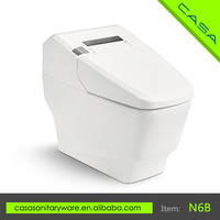 Automatic flush-E KEY remote control up to 8 meters high quality bathroom electric toilet