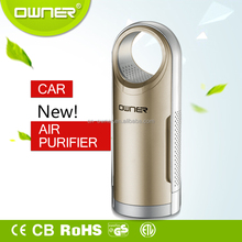 Car Ionic Air Purifiers For Smokers | Portable Ionizer Filters Allergies + Odors | Free Freshener by Fresh O2