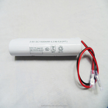 4000mah 12v 6v 7.2v 2.4v 3.6v rechargeable nicd aa sc d battery pack for power tool led emergency lights