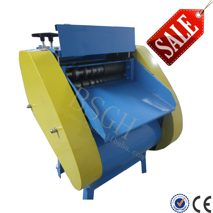 Factory Price Push Out Type Scrap Metal Copper Wire Recycling Chipping Machine BS-040