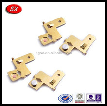 customized brass sheet metal stamping battery stamping parts clips metal stamping for automotive parts made in China