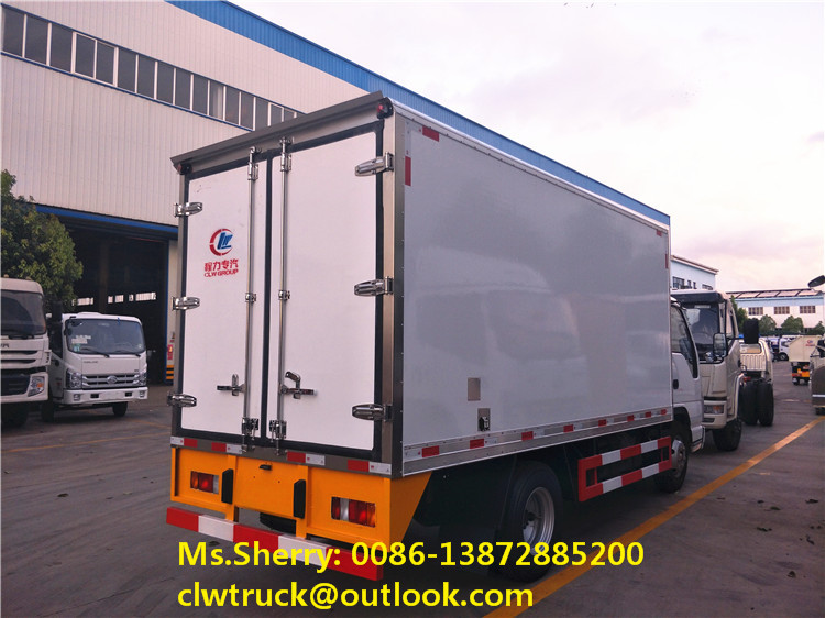2017 Special offer I SUZU Refrigerator Truck with optional refrigeration units