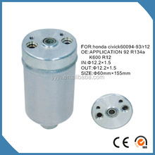 cheap air conditioner aluminum filter drier , cheap steel filter drier , cheap copper filter drier with nuts
