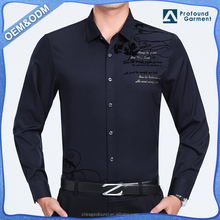 New model cheap long sleeve men shirts brand names, latest shirts pattern for men