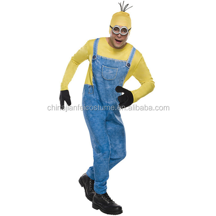 Wholesale Adult Despicable Me Minion Mascot Costume