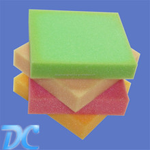 colorful cellulose scouring sponge