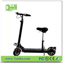 Popular foldable electric smart push scooter two wheel foldable electric scooter for adults