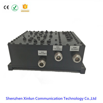 Good Quality GSM/DCS/WCDMA Triple Band RF Passive Combiner/Triplexer