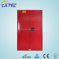 CATEC 45 gallon high quality red color metal storage cabinet for combustible liquids: CFS-G045
