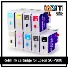 SC-P800 For Epson ink cartridge For Epson T8501-T8509 P800 cartridge refill
