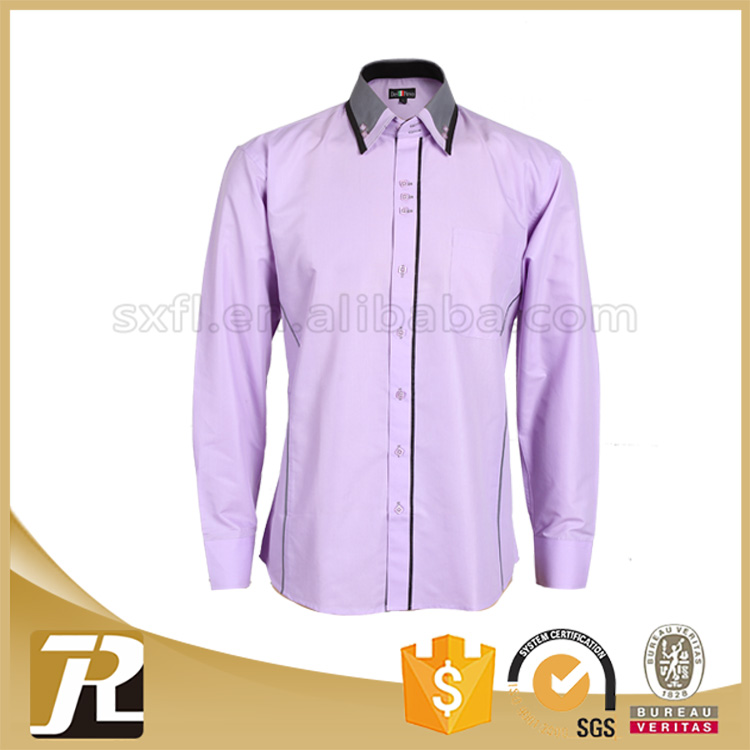 Latest Style Best selling cheap OEM men long sleeve shirt