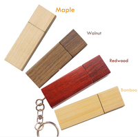 Bulk 1gb usb flash drives wooden pen and flash drive